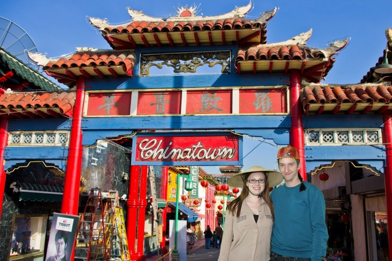 Couple visits China Town for Chinese New Year!