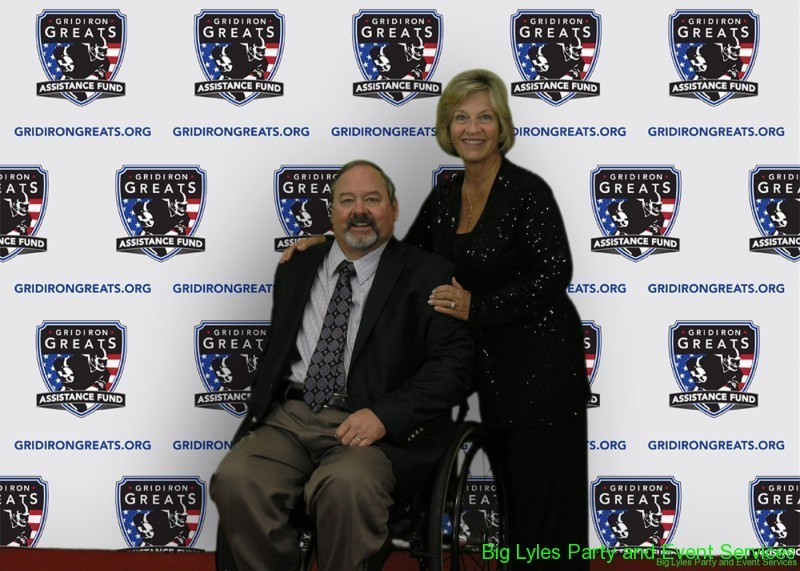 Members  on the Red Carpet at 2014 Detroit Gridiron greats event