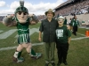 Posing with Sparty